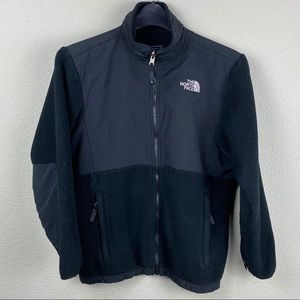 The North Face Denali large black fleece jacket